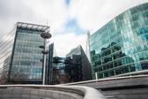 London Cityscape around city hall — Stock Photo
