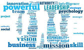 Businessman info-text graphic — Stock Photo