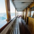 Inside view of sailing cruise — Stock Photo #27379591