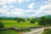 Beautiful view british countryside — Stock Photo