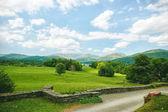 Beautiful view british countryside — Stock Photo