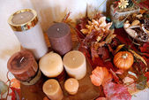 Autumn Decor — Stock Photo