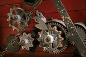 Old-fashioned Cogs — Stock Photo