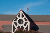 郊区教会 — 图库照片