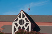 Chiesa suburbana — Foto Stock