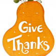 Stock Photo: Give Thanks