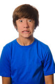 Scared Face Teen — Stock Photo