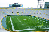 Lambeau Field in Green Bay, Wisconsin — Stock Photo