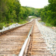 Railway on a sunny day — Stock Photo #21606055