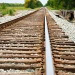 Railway on a sunny day — Stock Photo #21606057