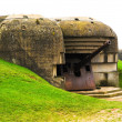 Old german bunker in Normandy, France — Stock Photo
