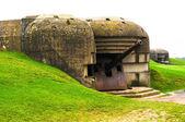 Stary niemiecki bunkier w Normandii, Francja — Zdjęcie stockowe