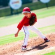 Youth pitcher — Stock Photo