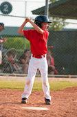LIttle league baseball batter — Stock Photo