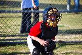 ほとんどの野球のキャッチャー — ストック写真