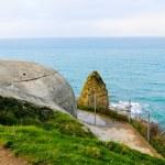 Pointe-du-Hoc, Normandy, France — Stock Photo