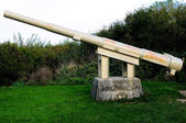 La Pointe du Hoc in Criqueville sur Mer — Stock Photo