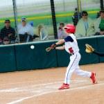 Little league baseball batter — Stock Photo #23766711