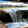 Stock Photo: Up-close stream waterfall