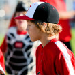 Youth baseball boy — Stock Photo