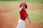Jugador de la liga pequeña — Foto de Stock
