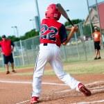Little league batter — Stock Photo #28030969