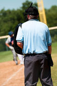 Baseball umpire — Stock Photo