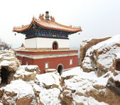 Landscape of Summer Palace in winter — Stock Photo