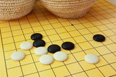 The game of go — 图库照片