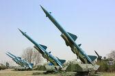 Militärische rakete — Stockfoto