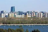 The cityscape of beijing — Stock Photo