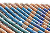 Background of Chinese building roof — Stock Photo