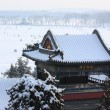 Stock Photo: Snowscape of Summer Palace
