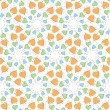 Royalty-Free Stock Imagen vectorial: Hearts and circles pattern