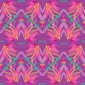 Lilies_seamless9 — ストックベクタ