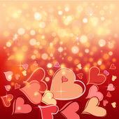 Happy valentinstag-card. — Stockvektor