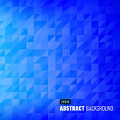 Polygonal abstract background — Stock Vector