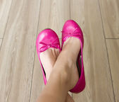 Pink shoes — Stock Photo