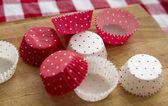 Cupcake cups — Stock Photo