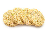 Amaranth cookie — Stock Photo