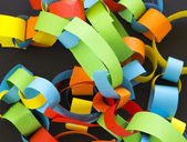Paper chain — Stock Photo