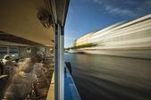 乘船在圣彼得斯堡 — 图库照片
