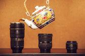 Photograper's morning — Stock Photo