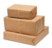 Package boxes — Stock Photo