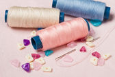 Sewing thread — Stockfoto
