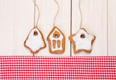 Christmas gingerbreads — Stockfoto