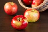 Äpfel — Stockfoto