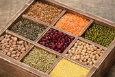 Mix from various legume — Stock Photo