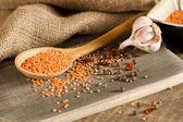 Lenticchie rosse — Foto Stock