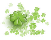 Lucky clover — Stock Vector